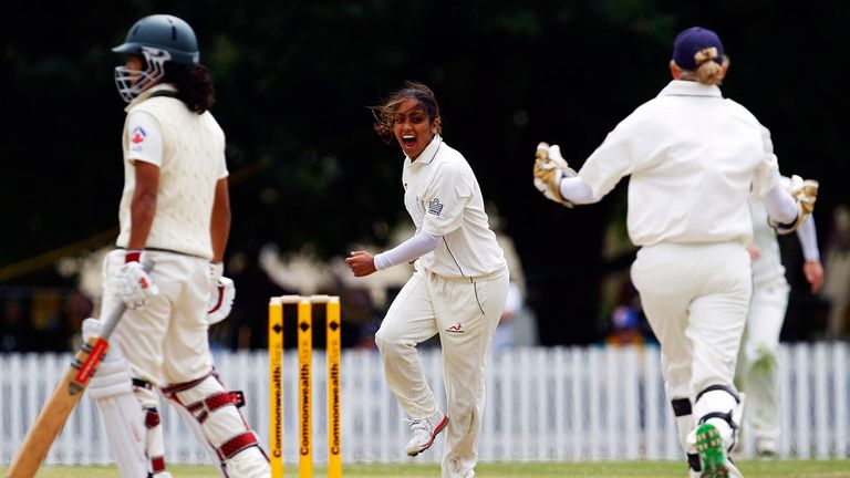 The ECB want to see more girls follow in the footsteps of Isa Guha