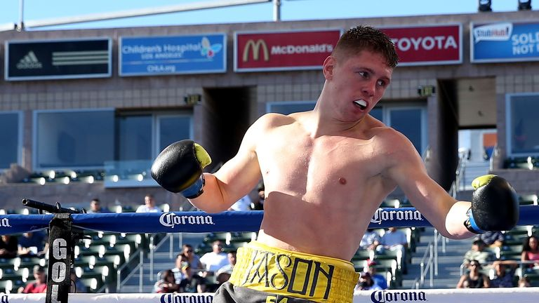 Jason Quigley is hoping to extend his unbeaten record this Saturday