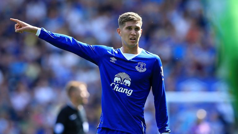 John Stones has featured in both Everton's Premier League games so far
