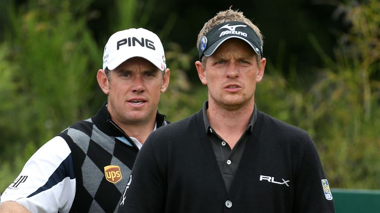 Luke Donald and Lee Westwood will play in the British Masters at Woburn