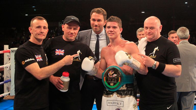 Luke Campbell settled Hull rivalry with 10th round stoppage of Tommy Coyle (Picture by Lawrence Lustig)