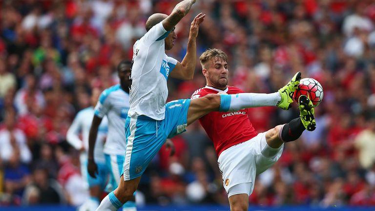 Luke Shaw has impressed for Man Utd so far this season