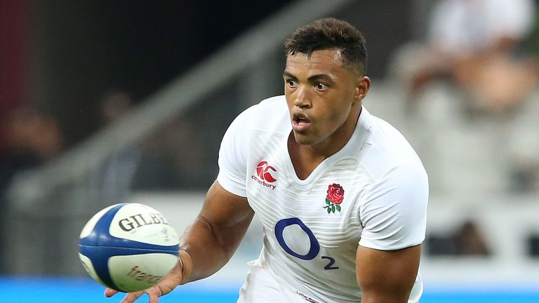 Luther Burrell last played for England in the World Cup warm-up against France