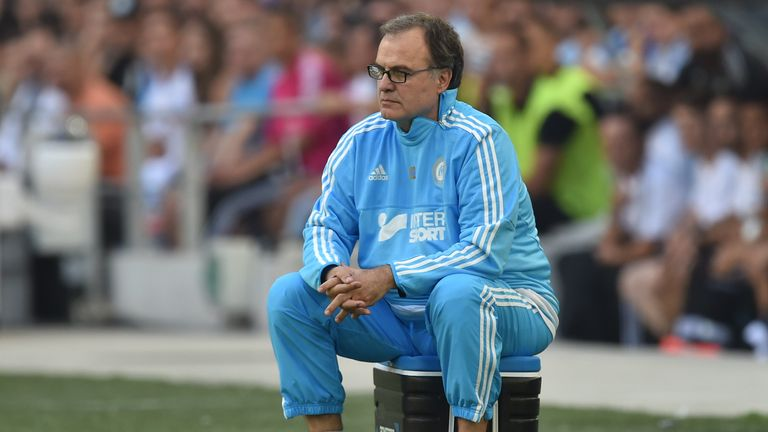 Bielsa left his post at Marseille after the first Ligue 1 game of the season
