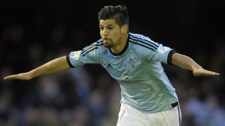 It's been a good year for Celta Vigo forward Nolito