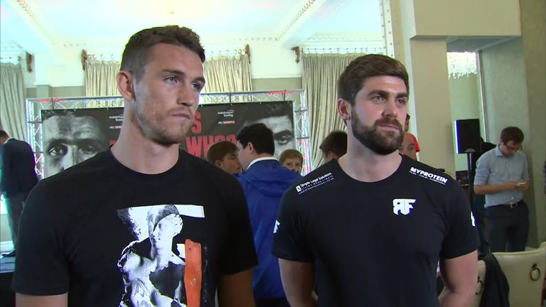 Callum Smith is too big to be bullied, says Gallagher