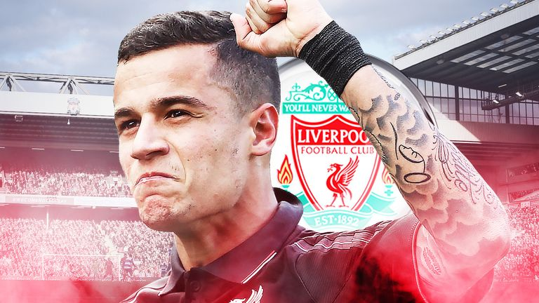 Phillipe Coutinho has been linked with a move to Barcelona.