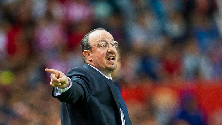 Rafael Benitez says Benzema is a very good partner for Cristiano Ronaldo