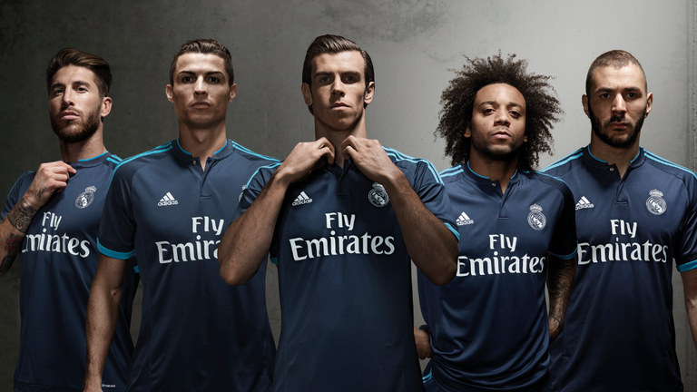 Man Utd and Real Madrid among six clubs to unveil new adidas third ... 5410469ec