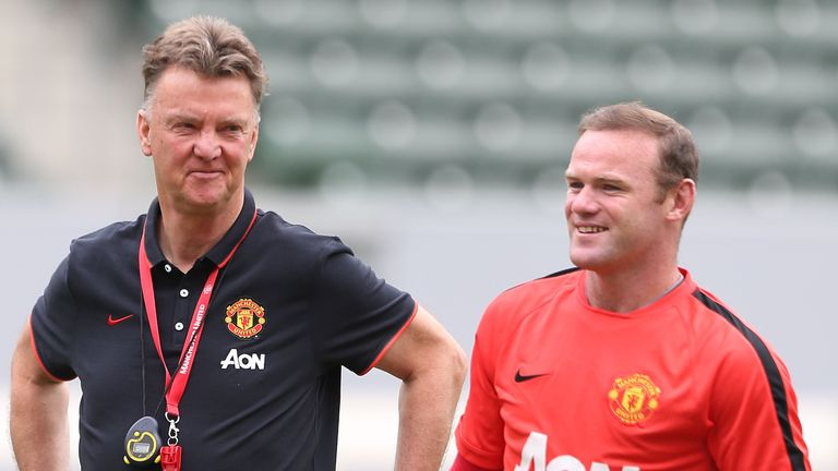 Wayne Rooney admits he was devastated when Louis van Gaal was sacked by Man Utd