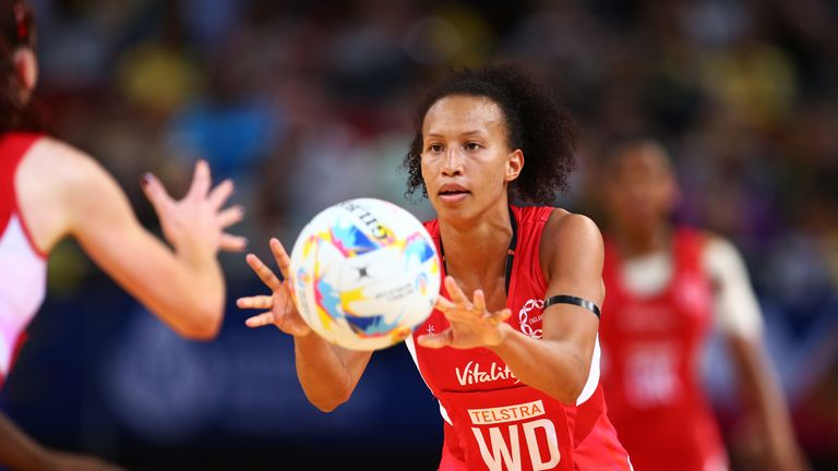 Serena Guthrie won gold with the Roses at the Gold Coast Commonwealth Games in April