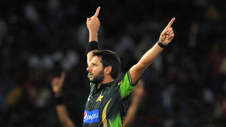 Shahid Afridi looking forward to the T20 battle in Dubai