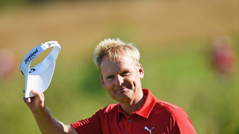 Soren Kjeldsen played some of the best golf of his career despite turning 40 in May