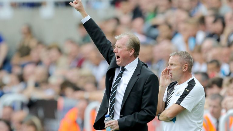 Steve McClaren had to make do with a point from his first game as Newcastle boss
