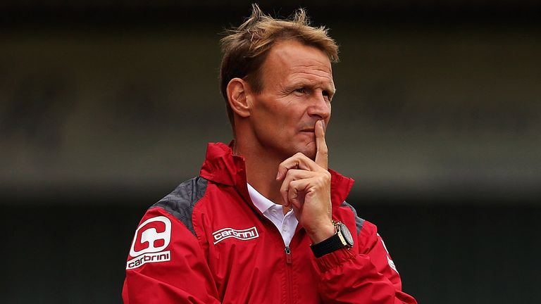 Teddy Sheringham, manager of Stevenage, has registered himself to play for the club