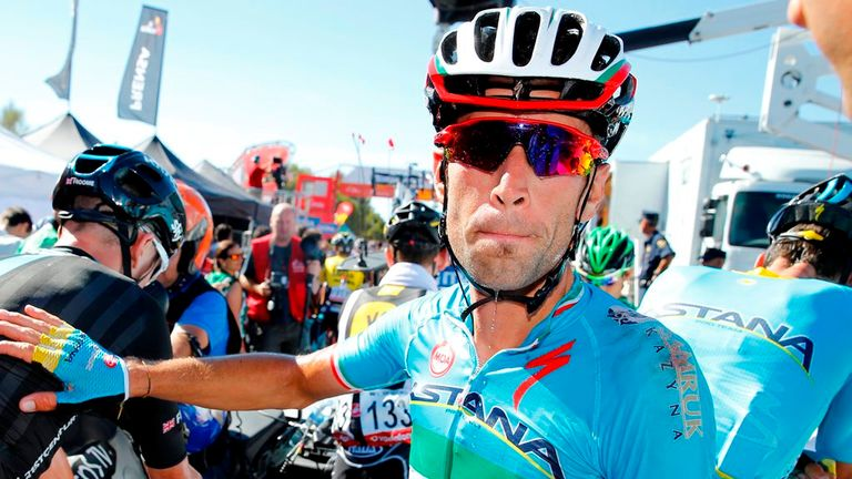 Vincenzo Nibali was thrown out of the Vuelta a Espana for getting a tow from his team car
