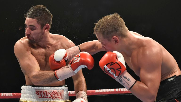 Fedor Chudinov beat Frank Buglioni in his only fight in England