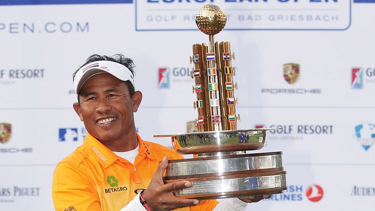 While the young guns were starring in Atlanta, 46 year old Thongchai Jaidee was winning in Germany