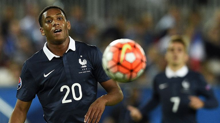 Could Anthony Martial be involved for Manchester United against Liverpool?