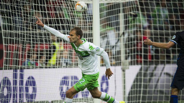 Wolfsburg's Bas Dost has scored six goals so far this season