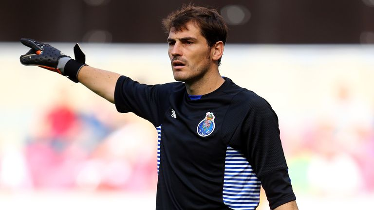 Iker Casillas has played for Porto for the past five years