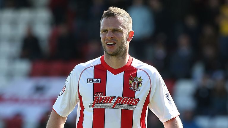 Chris Beardsley was the match winner for Mansfield at Crawley