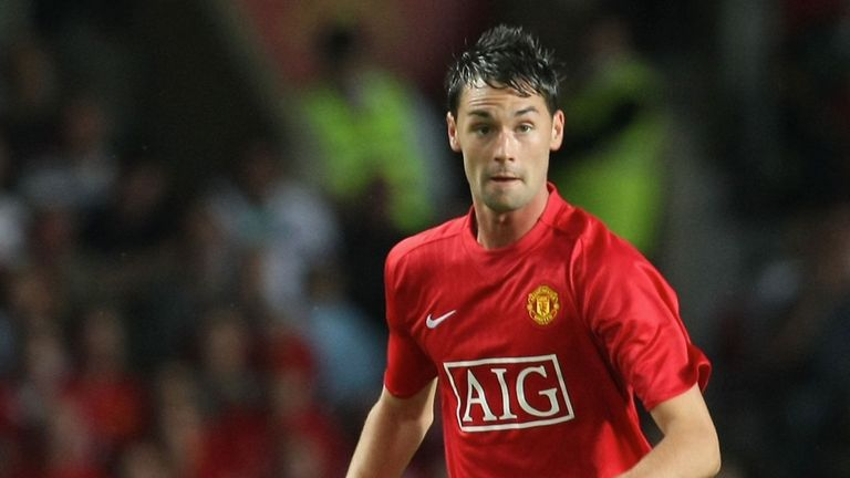 Chris Eagles only made a handful of appearances for United and is now without a club
