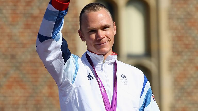 Froome finished third in the Olympic time trial in 2012