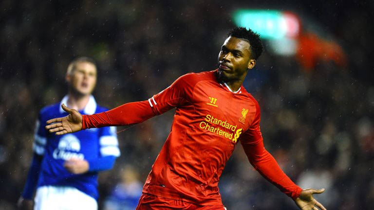 Daniel Sturridge is key for Liverpool and has three previous goals in Merseyside derbies