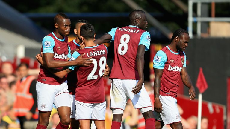 Cheikhou Kouyate's stoppage-time effort spared West Ham's blushes against Norwich