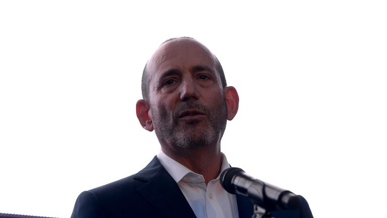 Don Garber: The MLS commissioner believes the league will become one of the best by 2022