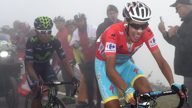 Aru is looking to win his first grand tour