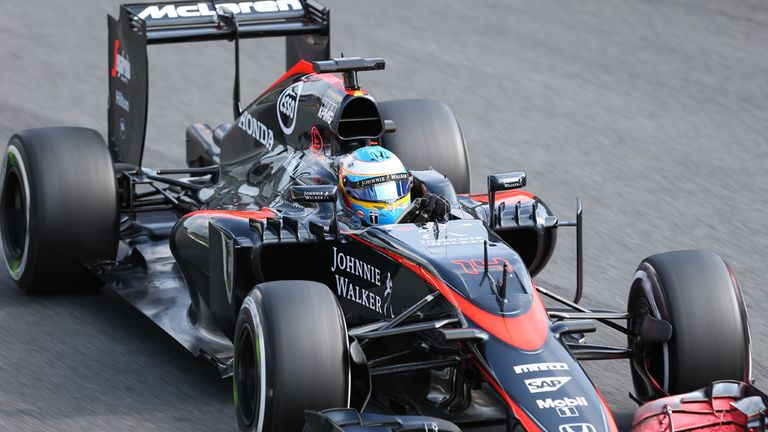 Alonso struggled for pace in Friday practice