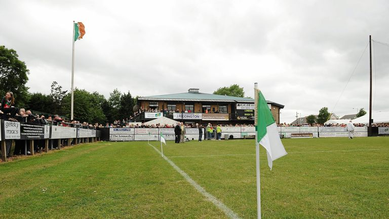 Ruilsip GAA grounds, where Garda Eireannach were cleared to compete in the London Junior Championship on Monday night