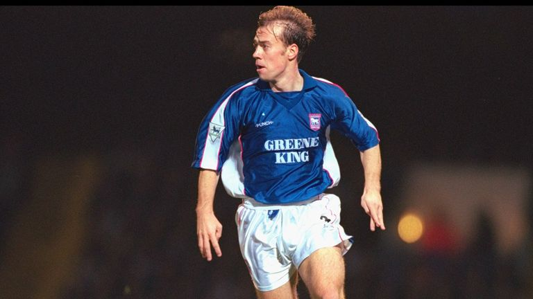 Jamie Clapham later got more European experience with Ipswich
