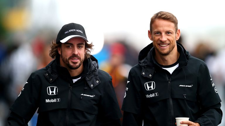 Will Fernando Alonso and Jenson Button still be team-mates into next season?