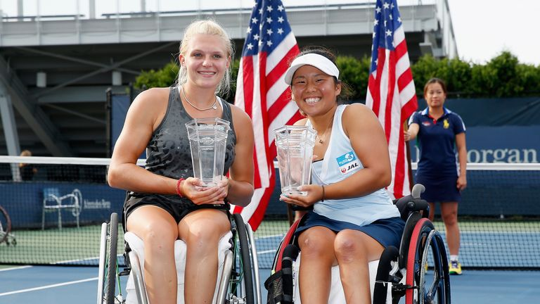 Jordanne Whiley and Yui Kamiji won last year's US doubles title