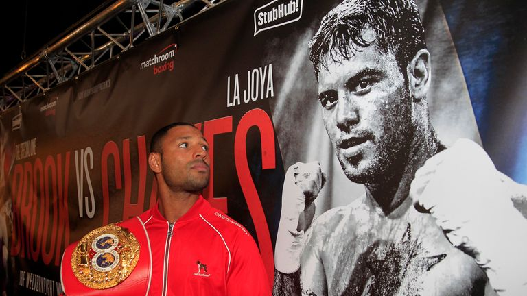 Kell Brook (left) will have to be at his best against Diego Chaves, says Bradley