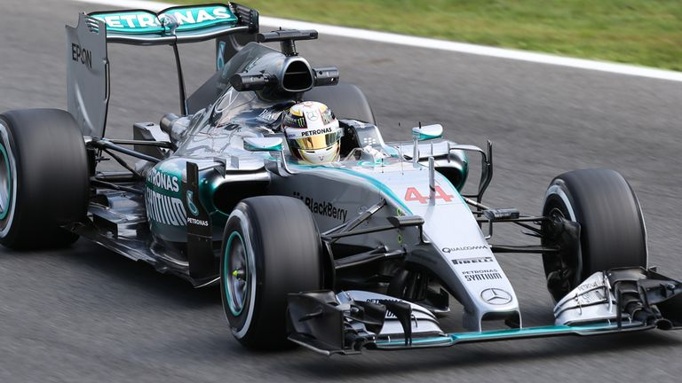 Lewis Hamilton: Fastest in Friday practice