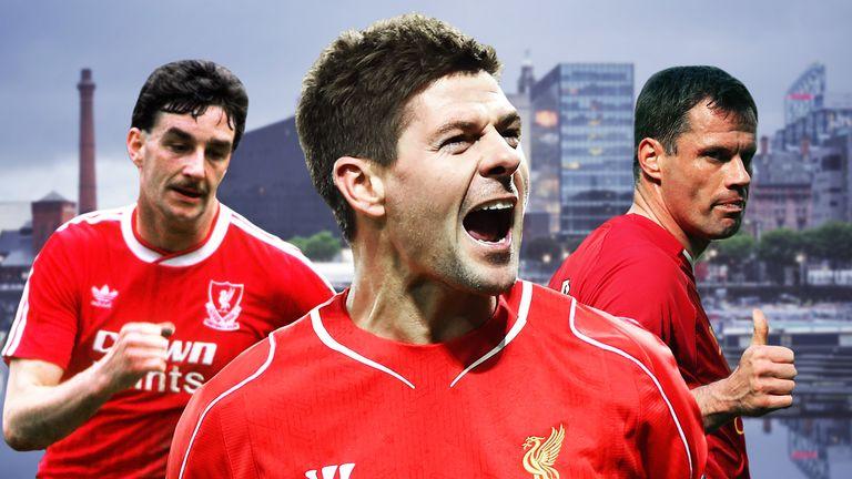 Steven Gerrard, John Aldridge and Jamie Carragher are Scousers to have played in Merseyside derbies