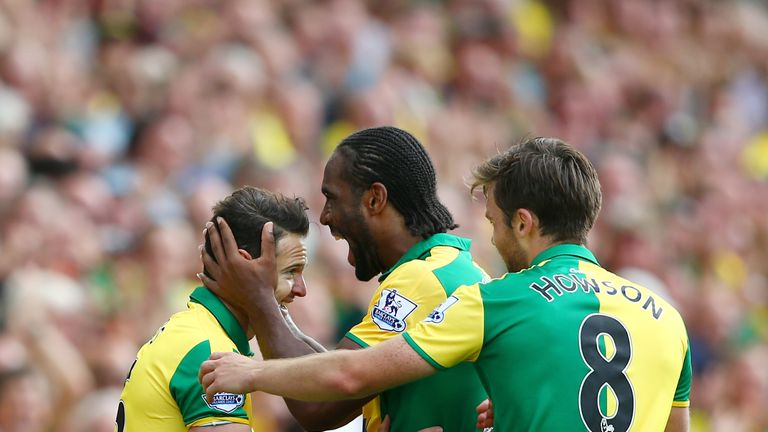 Matt Jarvis marked his Norwich debut with a goal against Bournemouth