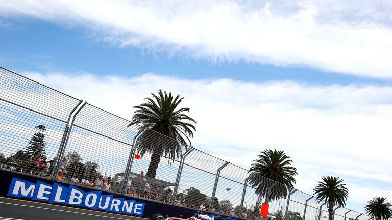 The Australian GP has been brought forward two weeks