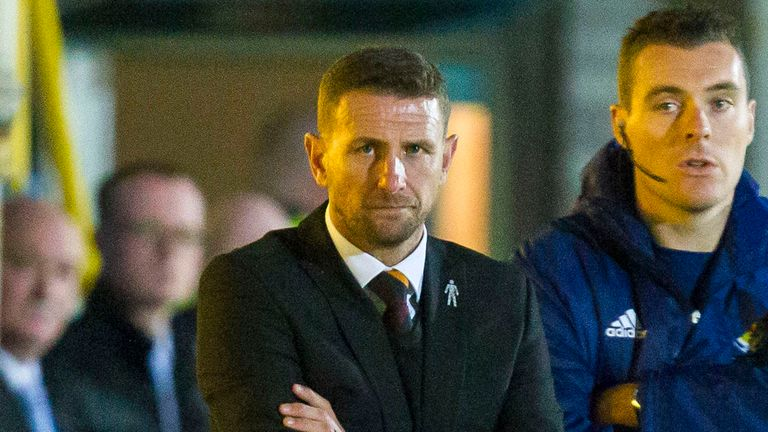 Ian Baraclough only lasted nine months at Fir Park before being sacked