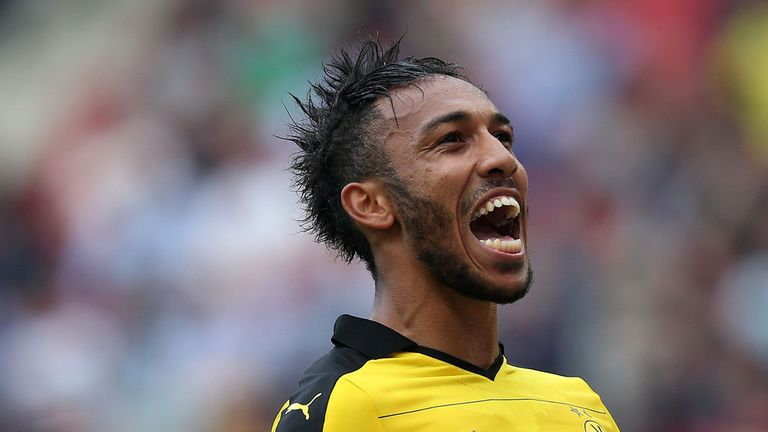 Dortmund striker Pierre-Emerick Aubameyang has been heavily linked with several Premier League clubs
