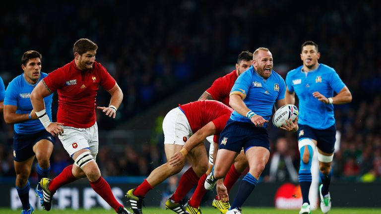Italy hooker Leonardo Ghiraldini will leave Leicester for Toulouse