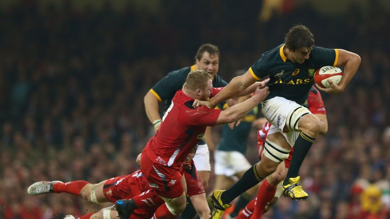 Wales beat South Africa when they met in Cardiff in 2014