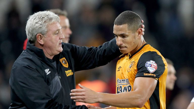Jake Livermore (right) has praised former boss Bruce