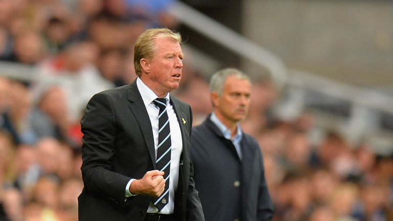 Steve McClaren was pleased with his side's attitude against Chelsea