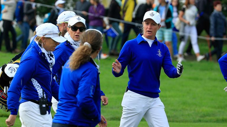 Suzann Pettersen initially said there was no question of the Europeans conceding the contentious putt in 2015