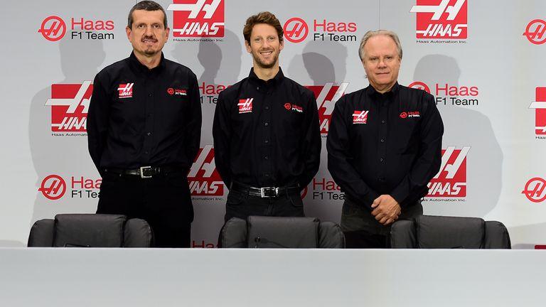 Romain Grosjean will race for Haas in 2016